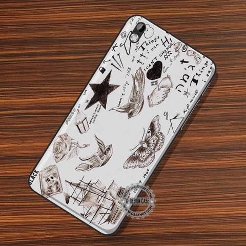 Harry Styles Tattoos - LG Nexus Sony HTC Phone Cases and Covers