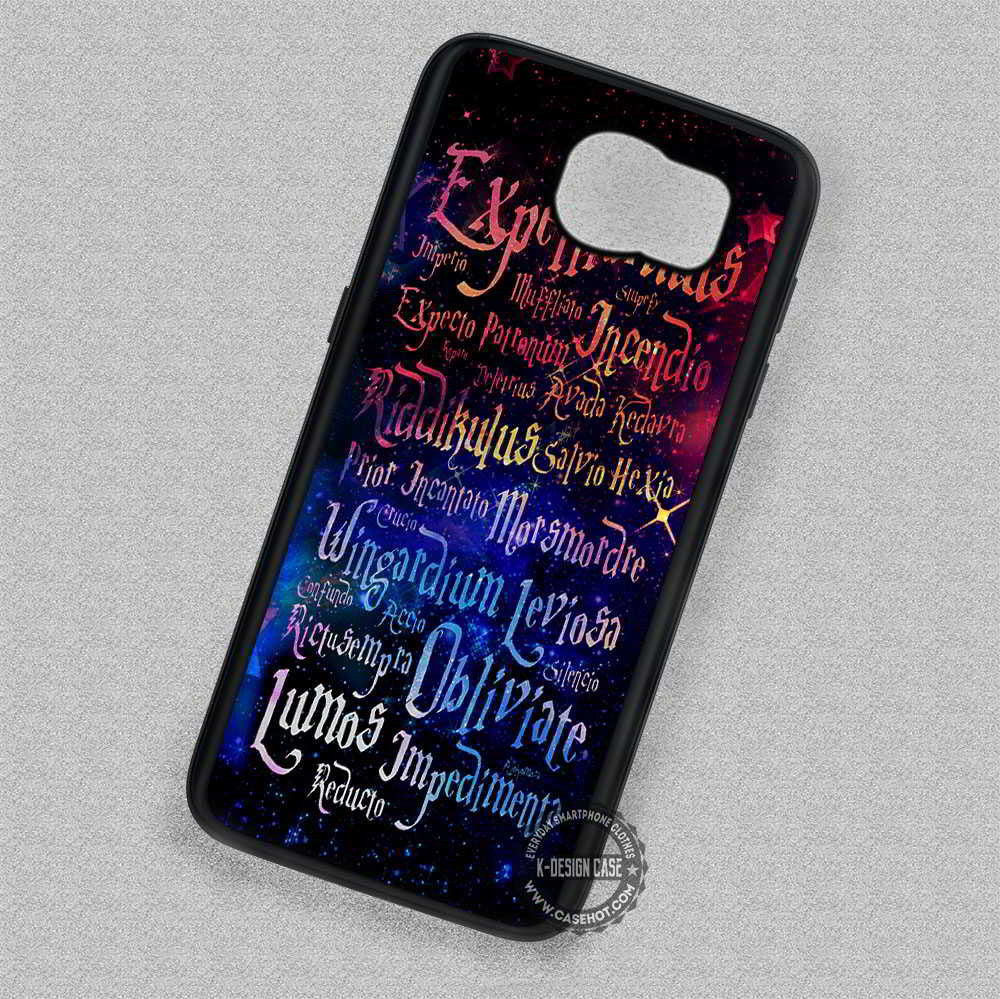 Harry Potter Magic Spelling Quotes Samsung Galaxy S7 S6 S5 Note 4