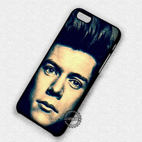 Harry Style Painting Art One Direction - iPhone 7 6 Plus 5c 5s SE Cases & Covers