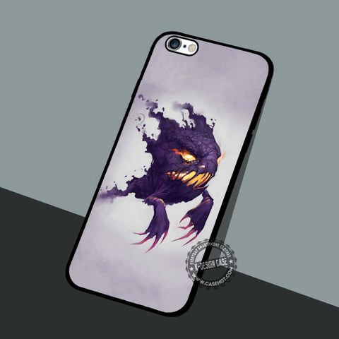 Haunter Pokemon Game - iPhone 7 6 5 SE Cases & Covers