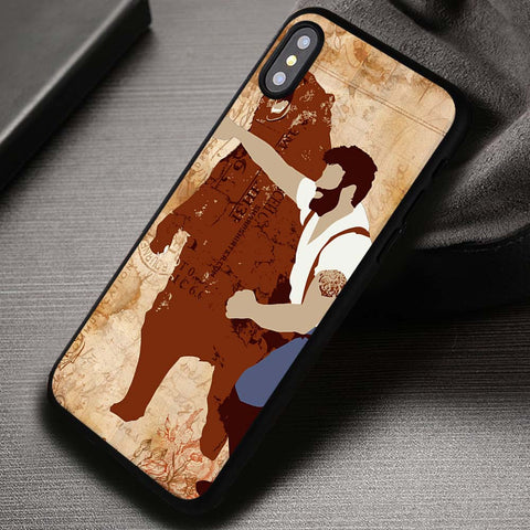 Haymaker Bear Punch - iPhone X Case