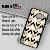 Herringbone Chevron sparkly - Samsung Galaxy S7 S6 S5 Note 5 Cases & Covers