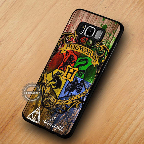 Harry Potter Hogwarts Wizard Wood - Samsung Galaxy S8 case
