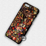 Horror Movie Collage - iPhone 7 6 Plus 5c 5s SE Cases & Covers