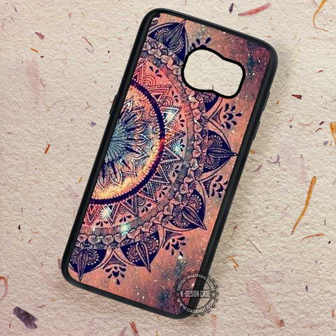 Hot Mandala Datura Hippie Sparkling - Samsung Galaxy S8 S7 S6 Note 8 Cases & Covers