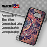 Hot Mandala Datura - Samsung Galaxy S7 S6 S5 Note 5 Cases & Covers