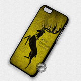 House of Baratheon - iPhone 7 6 Plus 5c 5s SE Cases & Covers