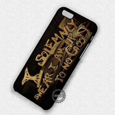 Solemnly Swear Quotes - iPhone 7 6 Plus 5c 5s SE Cases & Covers