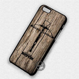 The Walking Dead  Wood Quotes - iPhone 7 6 Plus 5c 5s SE Cases & Covers