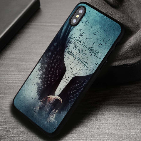 I'm afraid Castiel Quote Supernatural - iPhone X Case