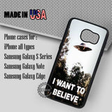 I Want To Believe - Samsung Galaxy S7 S6 S5 Note 5 Cases & Covers