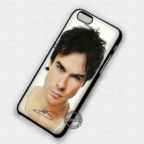 Ian Somerhalder's Autograph - iPhone 7 6 Plus 5c 5s SE Cases & Covers