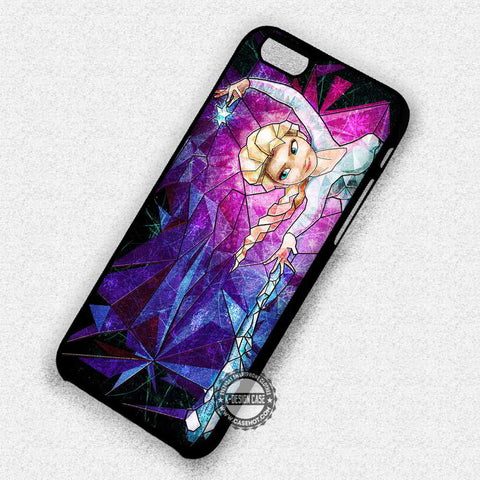 Ice Crystal Stained Glass - iPhone 7 6 Plus 5c 5s SE Cases & Covers