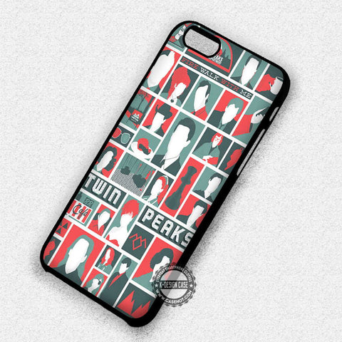 Icons Twin Peaks - iPhone 6 5 Cases & Covers