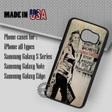 Banksy Quotes Retro - Samsung Galaxy S7 S6 S5 Note 5 Cases & Covers