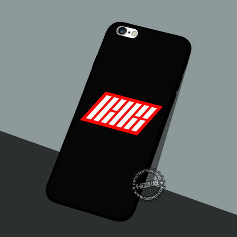 Ikon Logo Red White - iPhone 7 6 5 SE Cases & Covers
