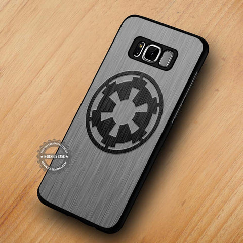 Imperial Logo Steel Inspired Star Wars - Samsung Galaxy S8 Case