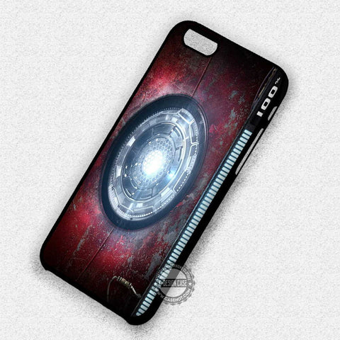 Arc Reactor Stark - iPhone 7+ 6+ SE Cases & Covers