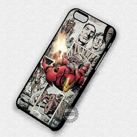 Iron Man Comic - iPhone 7+ 6+ SE Cases & Covers