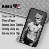 Signature Underwear Justin Bieber - Samsung Galaxy S8 S7 S6 Note 8 Cases & Covers