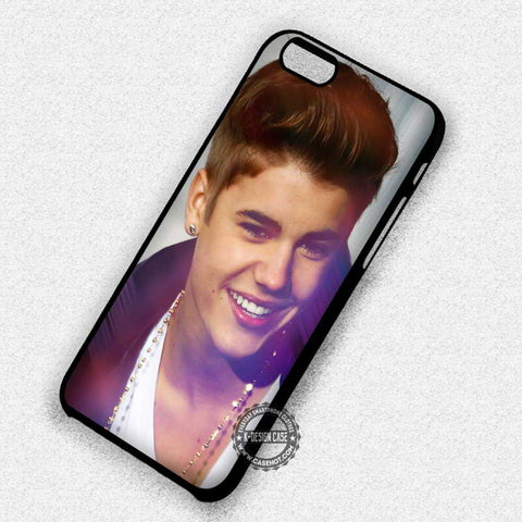 Justin Bieber Smile Singer Handsome Music - iPhone 7 6 5 SE Cases & Covers