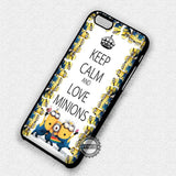 Keep Calm Minion - iPhone 7 6 Plus 5c 5s SE Cases & Covers