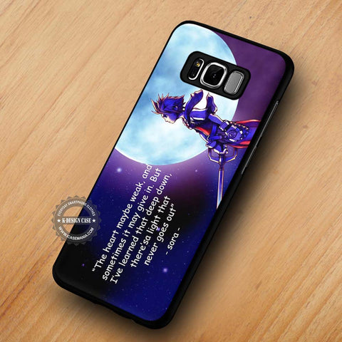 Kingdom Heart's Quote - Samsung Galaxy S8 Case