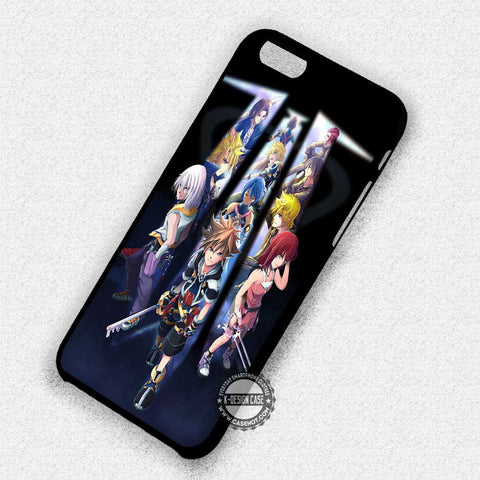 Kingdom Hearts III Anime - iPhone X 8+ 7 6s SE Cases & Covers