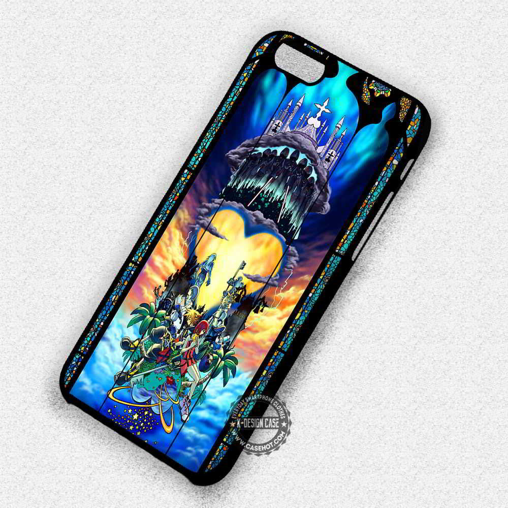Donald Duck Stained Glass iphone case