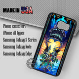 Kingdom Hearts Stained Glass - Samsung Galaxy S7 S6 S5 Note 5 Cases & Covers