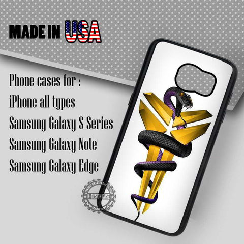 Kobe Bryant Black Mamba  - Samsung Galaxy S8 S7 S6 Note 8 Cases & Covers