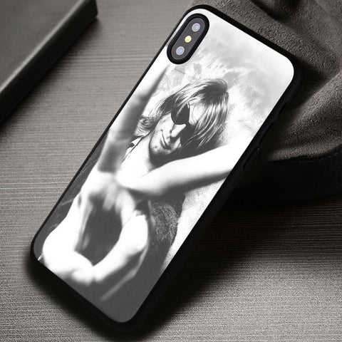 Kurt Cobain Nirvana - iPhone X Case
