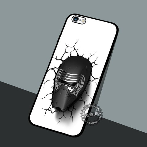 Kylo Ren Black Mask - iPhone 7 6 5 SE Cases & Covers