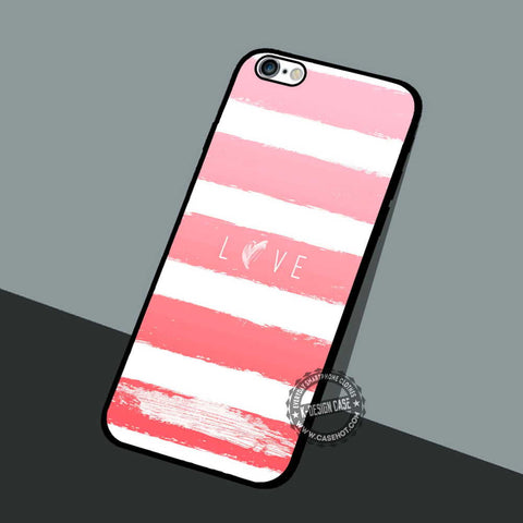Love Pink Ombre - iPhone 7 6 5 SE Cases & Covers