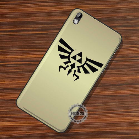 Triforce Crest Gold - LG Nexus Sony HTC Phone Cases and Covers