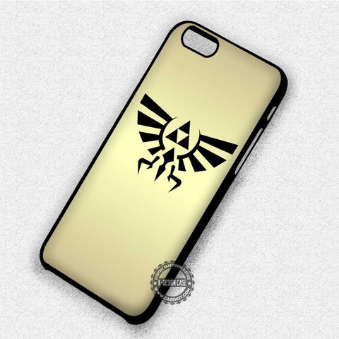 Triforce Hylian Crest Gold - iPhone 8+ 7 6s SE Cases & Covers