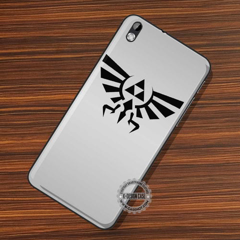 Triforce Crest Silver - LG Nexus Sony HTC Phone Cases and Covers