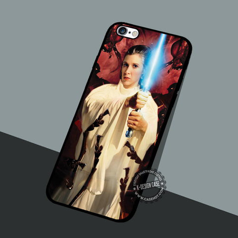 Leia Organa Solo - iPhone 7 6 5 SE Cases & Covers