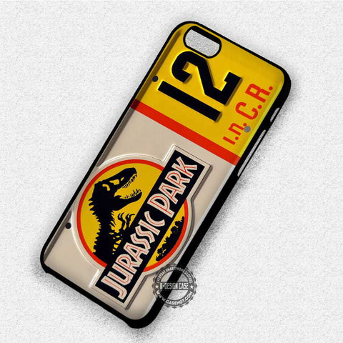 License Plate Jurassic Park  - iPhone 7 6 Plus 5c 5s SE Cases & Covers