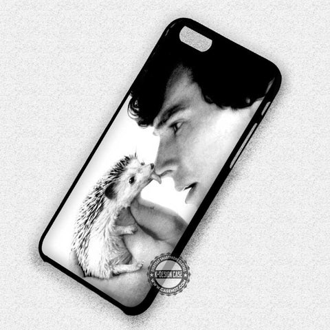 Licking by Hedgehog - iPhone 7 6 Plus 5c 5s SE Cases & Covers