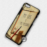 Life Quote Retro - iPhone 7 6 Plus 5c 5s SE Cases & Covers