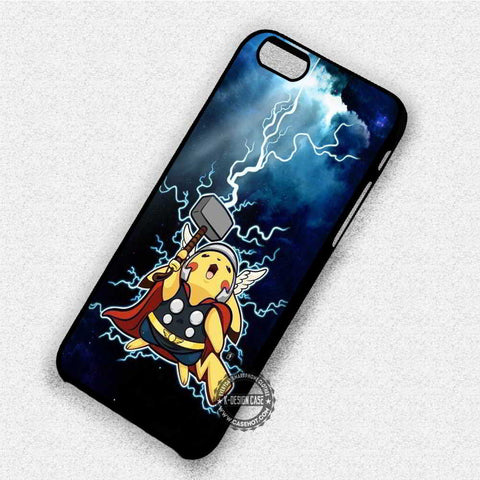 Lightning Pikachu Pokemon - iPhone 7 6 Plus 5c 5s SE Cases & Covers