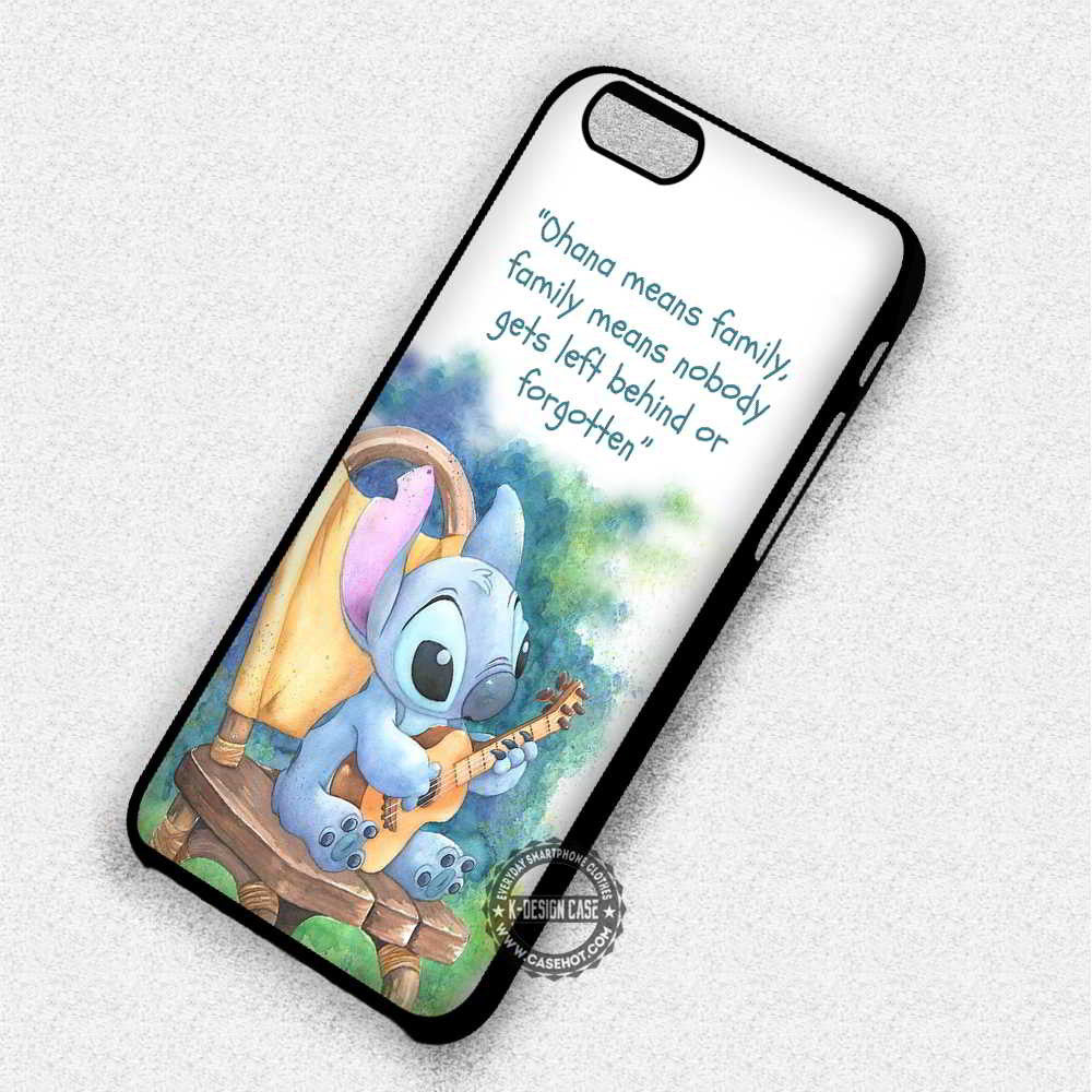 Lilo And Stitch Quote Disney Iphone 7 6 6s 5c 5s Se Cases Covers