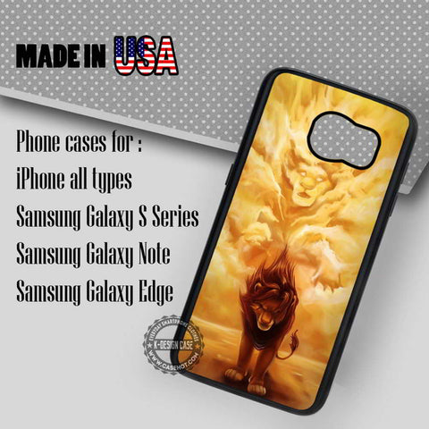 Lion King Simba - Samsung Galaxy S7 S6 S5 Note 5 Cases & Covers