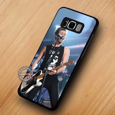 Live Concert Luke Hemmings 5SOS - Samsung Galaxy S8 Case