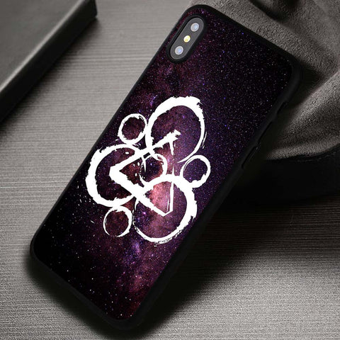 Logo Galaxy Style Coheed and Cambria - iPhone X Case