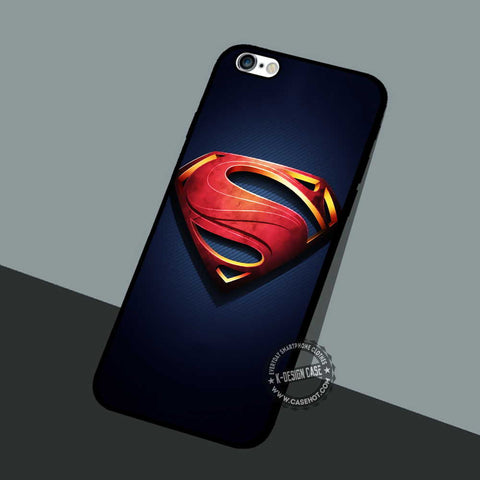 Man of Steel Superman - iPhone 7 6 5 SE Cases & Covers