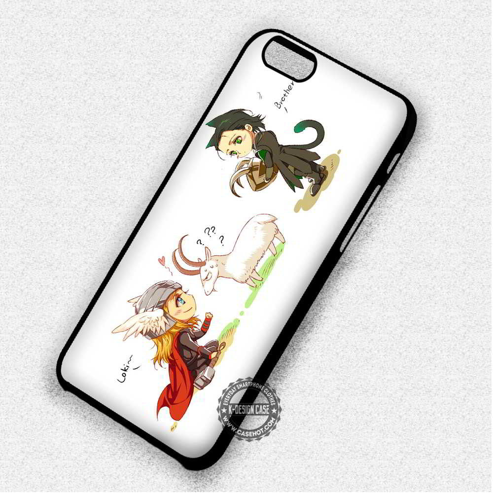 outlet store 214ab e603f Loki The Brother Of Thor Cute - iPhone 7 6 5 SE Cases & Covers