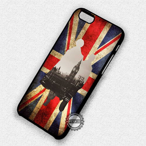 London Silhouette Sherlock - iPhone 7 6 Plus 5c 5s SE Cases & Covers
