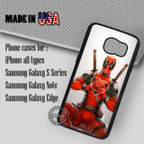 Love Heart Deadpool - Samsung Galaxy S7 S6 S5 Note 5 Cases & Covers